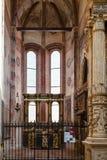 Kapel in chiesa Di Sant Anastasia in de stad van Verona Royalty-vrije Stock Fotografie