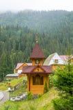 Kapel in de bergen Royalty-vrije Stock Afbeelding