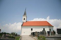 Kapel en Begraafplaats Royalty-vrije Stock Afbeeldingen