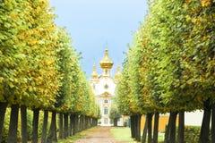 Kapel in St. Petersburg Royalty-vrije Stock Foto's