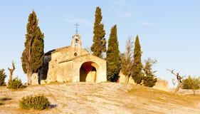 Kapel St. Sixte, de Provence Royalty-vrije Stock Afbeelding