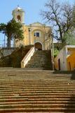 Kapel in tlaxcala I royalty-vrije stock foto's