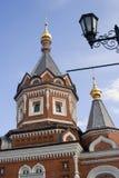 Kapel van Alexander Nevsky in Yaroslavl, Rusland Royalty-vrije Stock Foto's