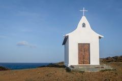 Kapel van Dos van Saopedro Pescadores - Fernando de Noronha, Pernambuco, Brazilië royalty-vrije stock foto