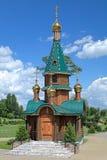 Kapel van Heilige Barbara in Slutsk, Wit-Rusland royalty-vrije stock afbeelding