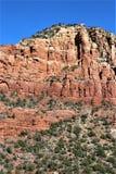 Kapel van het Heilige Kruis, Sedona, Arizona, Verenigde Staten royalty-vrije stock foto