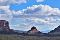 Kapel van het Heilige Kruis, Sedona, Arizona, Verenigde Staten royalty-vrije stock foto's