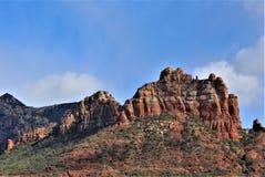 Kapel van het Heilige Kruis, Sedona, Arizona, Verenigde Staten royalty-vrije stock afbeeldingen