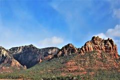Kapel van het Heilige Kruis, Sedona, Arizona, Verenigde Staten royalty-vrije stock fotografie