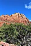 Kapel van het Heilige Kruis, Sedona, Arizona, Verenigde Staten stock fotografie