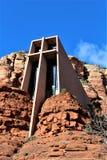 Kapel van het Heilige Kruis, Sedona, Arizona, Verenigde Staten royalty-vrije stock afbeelding