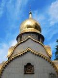 Kapel van het Prokhorovs-begin van de 20ste eeuw in Novodevichy-het Klooster van Klooster bogoroditse-Smolensky Royalty-vrije Stock Fotografie