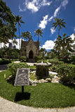 Kapel van Kerk Kawaiahao Royalty-vrije Stock Foto