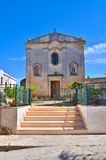 Kapel van Madonna-della Palma. Palmariggi. Puglia. Italië. Royalty-vrije Stock Fotografie