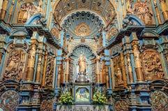 Kapel van Nuestra Senora de la Evangelizacion in Lima Cathedral, Peru stock foto's