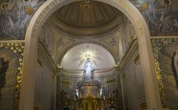 Kapel van Onze Dame van de Wonderbare Medaille, Parijs, Frankrijk Royalty-vrije Stock Foto