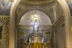 Kapel van Onze Dame van de Wonderbare Medaille, Parijs, Frankrijk Royalty-vrije Stock Afbeelding