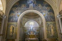 Kapel van Onze Dame van de Wonderbare Medaille, Parijs, Frankrijk Stock Afbeeldingen