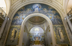 Kapel van Onze Dame van de Wonderbare Medaille, Parijs, Frankrijk Stock Afbeelding