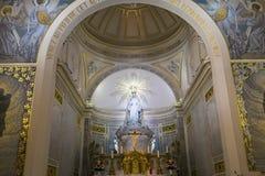 Kapel van Onze Dame van de Wonderbare Medaille, Parijs, Frankrijk Stock Fotografie