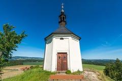 Kapel van St Anne op Vysker Stock Foto's