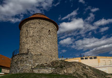Kapel van st Catherine in stad Znojmo, Tsjechische republiek Royalty-vrije Stock Foto's