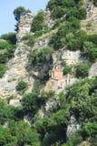 Kapel van st Michele in Berat Stock Afbeeldingen