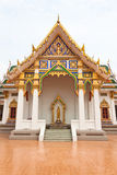 Kapel van Thaise tempel Stock Fotografie