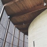 Kapel van Verzoening, Berlin Wall Memorial Park, Berlijn, Duitsland stock afbeelding