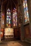 Kapel Votive kerk, Wenen, Oostenrijk Stock Afbeelding