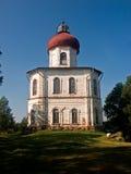Kapel-vuurtoren op Solovki royalty-vrije stock afbeelding