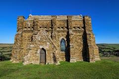 Kapell Abbotsbury, Dorset för St Catherine's arkivbilder