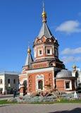 Kapell av Alexander Nevsky royaltyfria foton