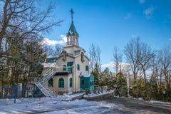 Kapell av brodern Andre på den Sanka Joseph Oratory - Montrealen, Quebec, Kanada Arkivfoton