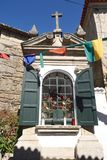 Kapell av byn av Vila Nova de Cerveira, Alto Minho, port Royaltyfri Bild