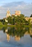 Kapell av den Novodevichy kloster Arkivbilder