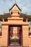 Kapell av det thai tempelet Royaltyfria Foton
