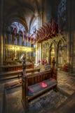 Kapell av Durham det ljusa infanterin arkivfoto