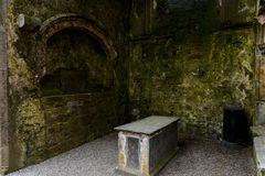 Kapell av konungen Cormac Mac Carthaigh på vagga av Cashel Royaltyfri Bild