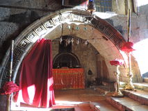 Kapell av Melisende, drottning av Jerusalem fotografering för bildbyråer