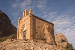 Kapell av Sant Joan, Montserrat, Catalonia, Spanien Arkivbild