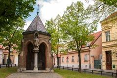 Kapell av St.-korset i Zagreb Royaltyfri Bild