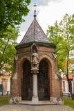 Kapell av St.-korset i Zagreb Arkivbild