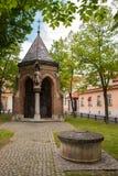 Kapell av St.-korset i Zagreb Royaltyfri Fotografi