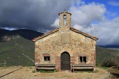Kapell - Ermita del Roser Arkivfoto