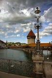 kapell för 2 bro Arkivfoto