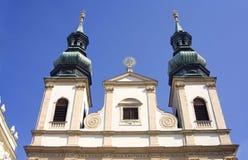 Kapell för Wien Österrike kyrkajesuits royaltyfri bild