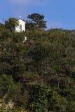 Kapell i bergen av Minas Gerais State - Brasilien Royaltyfria Foton