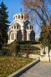 Kapell-mausoleet, Pleven, Bulgarien Royaltyfri Foto
