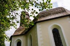 Kapell närliggande Oberstdorf för St Maria Loretto i Bayern Arkivbilder